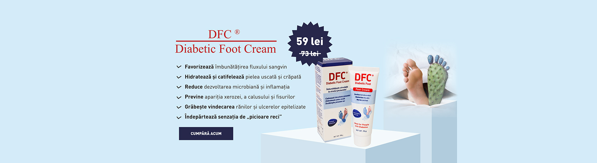 Promo Diabeti Foor cream