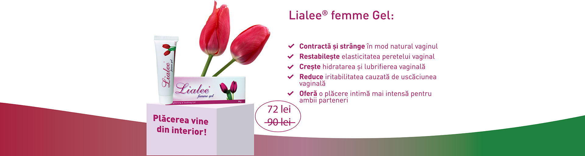 Promotie Lialee femme Gel