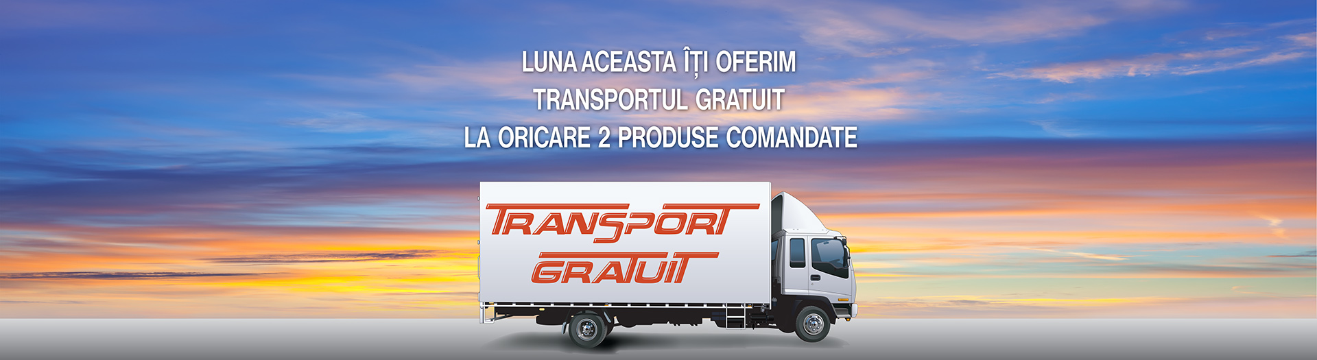 Promo transport gratuit